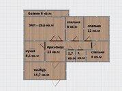 4-комнатная юзр, Ставрополь, Купить квартиру по аукциону в Ставрополе по недорогой цене, ID объекта - 322036421 - Фото 1