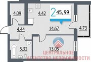 Продажа квартиры, Новосибирск, Ул. Большевистская, Купить квартиру в Новосибирске по недорогой цене, ID объекта - 325040076 - Фото 15