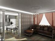 Двухкомнатная квартира в Сочи на ул. Невская в ЖК Санни Хилл