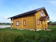 Готовый к проживанию бревенчатый дом у пруда - Фото 2
