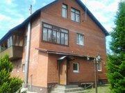 Кирпичный дом 340 кв.м. на берегу р. Руза, Рузский район 100 км. МКАД