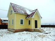 Новый дом из пеноблока в деревне Аленино
