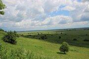 Просторный участок с панорамным видом на долину реки Оки - Фото 2