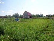 Земельный участок 12 соток с бревенчатым домом 6*4 и мансардой в д. . - Фото 5