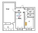 Просторная двухкомнатная квартира на комсомольской, Продажа квартир в Уфе, ID объекта - 330918596 - Фото 11