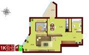 Продажа однокомнатная квартира 54.33м2 в ЖК монтекристо секция б