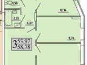 Продажа однокомнатной квартиры в новостройке на улице Хользунова, 99 в ., Купить квартиру в Воронеже по недорогой цене, ID объекта - 320573408 - Фото 2