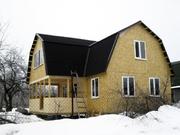Два дома в д.Ганькино, Луховицкий район, первая линия от реки Ока - Фото 1