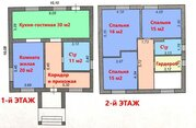 2-х этажный коттедж 150 м2 под отделку в мкр. Севрюково-62