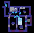 2 комнатная квартира ЖК Маленькая страна улица 40 лет Октября - Фото 4