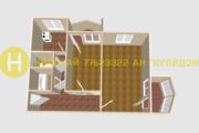 2 комнатная квартира ул. Федько д. 18 Б. Площадь 55 м.кв., Продажа квартир в Тирасполе, ID объекта - 332151609 - Фото 8