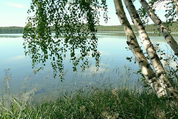 Участок в чудесном месте у озера