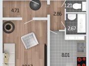 Продажа однокомнатной квартиры в новостройке на Корейской улице, влд6а ., Купить квартиру в Воронеже по недорогой цене, ID объекта - 320575700 - Фото 1