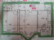 2 комнатная квартира новостройка - Фото 1