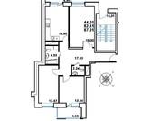 Продается 3 к.кв. г.Реутов, ул. Головашкина, д.3, Купить квартиру в новостройке от застройщика в Реутове, ID объекта - 317433611 - Фото 1