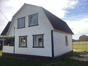 Новый дом с коммуникациями в дер.Юрцово - 80 км Щелковское шоссе - Фото 5