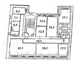 Апартаменты 219,2 кв.м. на улицы Куйбышева 32 (Петроградский район, .