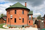Качественный и функциональный коттедж круглой формы, Продажа домов и коттеджей в Новосибирске, ID объекта - 502847362 - Фото 30