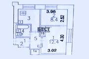 Двухкомнатная Квартира Москва, переулок Юрьевский, д.22, корп.1, ЮВАО .