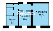 Продажа: 2 к.кв. ул. Я. Купалы, 6а, Продажа квартир в Орске, ID объекта - 330974393 - Фото 1