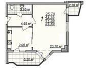 Продается комн. квартира (51.85 м2) в г. Алушта - Фото 1
