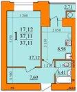 Продажа квартиры, Рязань, Семчино, Купить квартиру в Рязани по недорогой цене, ID объекта - 319885513 - Фото 2