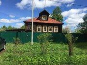 Продается крепкий дом из соснового сруба в 10 мин. ходьбы от р. Волга - Фото 1