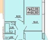 Продажа двухкомнатной квартиры в новостройке на улице Хользунова, 99 в ., Купить квартиру в Воронеже по недорогой цене, ID объекта - 320573505 - Фото 1