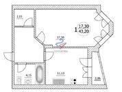 1-к квартира по ул. Генерала Кусимова, 19, Купить квартиру в Уфе по недорогой цене, ID объекта - 317078066 - Фото 12