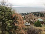 Продажа земельного участка с видом на море.