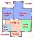 """2-х эт. коттедж 180 м2 с отделкой """"Под ключ"""" в Таврово-7 - Фото 2"""
