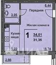 1-к кв. Курганская область, Курган 16-й мкр, 11 (31.9 м)