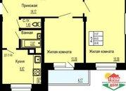 Продам 2-к квартиру 60 кв.м. в г. Малоярославец - Фото 1