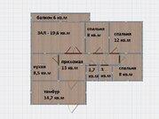 4-комнатная квартира, юзр, Купить квартиру в Ставрополе по недорогой цене, ID объекта - 320976779 - Фото 24