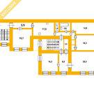 Подольская, д. 40, 2 эт, 146м2, 5 к.кв., Купить квартиру в Санкт-Петербурге по недорогой цене, ID объекта - 320071121 - Фото 1