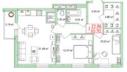 Продам 2 кв дп с Индив отопл и кухня гостинная 22кв.м. - Фото 2