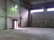 Аренда теплого склада 325.6м2, 1эт, потолок h-9м, ул. М.Новикова 28.
