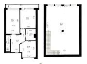 Продаётся 4-х комнатная двух уровневая квартира в 3-этажном таунхаусе