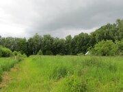 Продается земельный участок 26 соток в жилой деревне Мерлеево Чехов - Фото 1