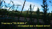 """Участок в экологически чистом коттеджном поселке """"телеши-1"""""""