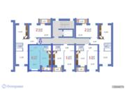 Квартира 1-комнатная в новостройке Саратов, Волжский р-н, Соколовая, Купить квартиру в Саратове по недорогой цене, ID объекта - 319508743 - Фото 2