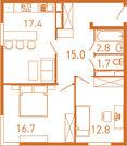 2-комнатная квартира в ЖК Сердце Одинцово - Фото 1