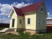 Новый 2-этажный дом в газифицированной деревне Аленино - Фото 1