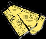 """1к видовая квартира 38 м2 в ЖК """"Каравелла"""" у моря рядом с """"Динопарком"""" - Фото 5"""