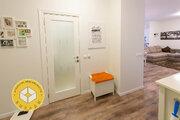Евро-2к квартира 50 кв.м. Звенигород, Спортивная 12/1, ремонт и мебель - Фото 2