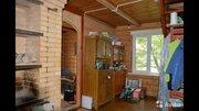 Бревенчатый дом+баня 10сот. черта Сергиев Посада СНТ Первомайское - Фото 1