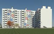 1 195 560 Руб., Продаётся однокомнатная квартира в новом доме в мкр.Юрьевец, Купить квартиру в новостройке от застройщика в Владимире, ID объекта - 313381342 - Фото 4