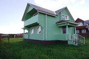 Новый дом из бревна 180 кв.м, все коммуникации, в 80 км от МКАД