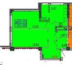 Новостройка, 2-комнатная квартира 57,73, Купить квартиру в Белгороде по недорогой цене, ID объекта - 317345715 - Фото 2