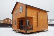 Новый коттедж в коттеджном посёлке «Слобода» около города Александров